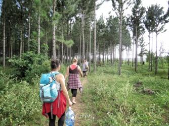 Walking to the Nile River for Fishing - Jinja Uganda - by Anika Mikkelson - Miss Maps - www.MissMaps.com