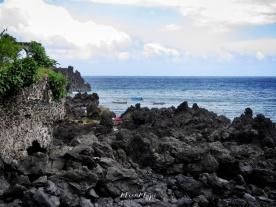 Rocky Beach of Moroni - Comoros - by Anika Mikkelson - Miss Maps - www.MissMaps.com