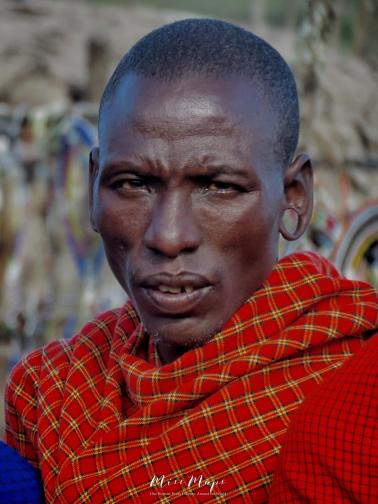 Maasai Man - Tanzania - by Anika Mikkelson - Miss Maps - www.MissMaps.com