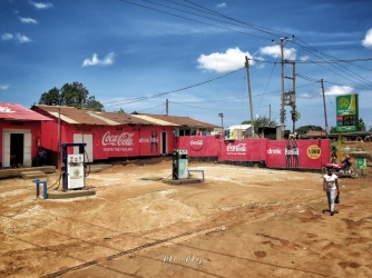 Coca Cola Walker - Jinja Uganda - by Anika Mikkelson - Miss Maps - www.MissMaps.com