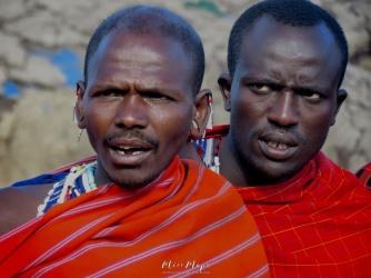 Maasai Men - Tanzania - by Anika Mikkelson - Miss Maps - www.MissMaps.com