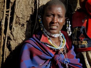Maasai Woman and Jewelry - Tanzania - by Anika Mikkelson - Miss Maps - www.MissMaps.com
