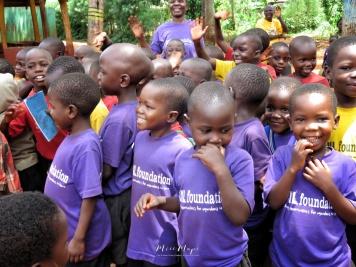 School Children - Jinja Uganda - by Anika Mikkelson - Miss Maps - www.MissMaps.com