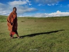 Maasai Shephard - Tanzania - by Anika Mikkelson - Miss Maps - www.MissMaps.com