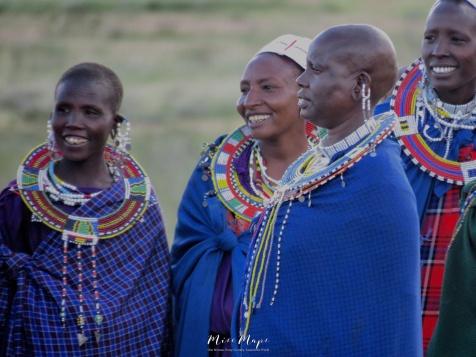 Laughing Maasai Women - Tanzania - by Anika Mikkelson - Miss Maps - www.MissMaps.com