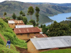 School Boy in the Hills - Rural Uganda - by Anika Mikkelson - Miss Maps - www.MissMaps.com