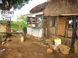 Honey For Sale Mas o Menos - Rural Uganda - by Anika Mikkelson - Miss Maps - www.MissMaps.com